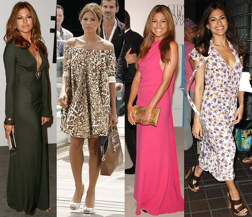 Pictures of Eva Mendes Style Through the Years