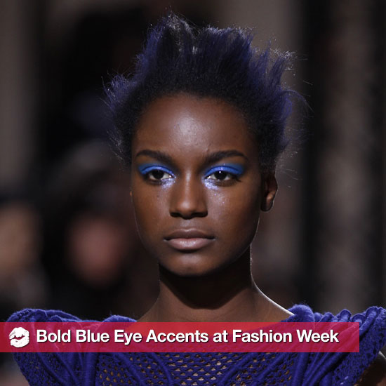 Fashion Week Trend Alert: Feelin' Blue
