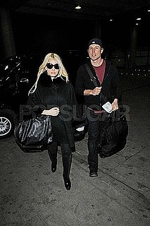 Pictures of Jessica Simpson and Eric Johnson Leaving London