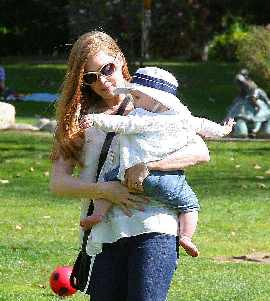 Amy Takes Darren and Aviana Along For a Playful Day in the Park