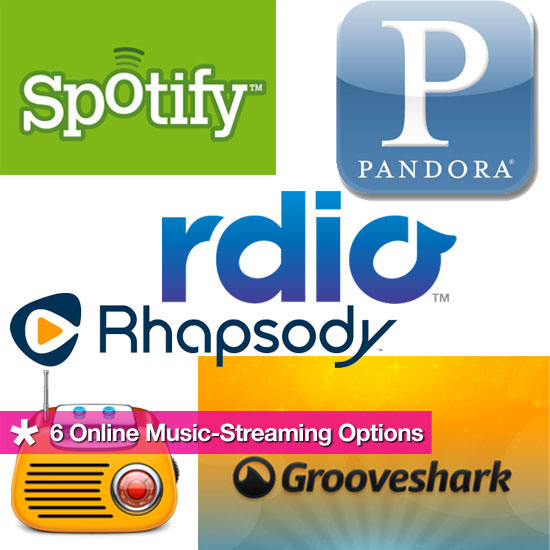 6 Online Music-Streaming Options