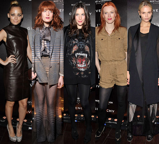 Photos of Best Dressed Stars at the Givenchy After Party in Paris