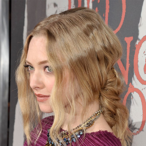 How to Get Amanda Seyfried's Bohemian, Half-Up Hairstyle