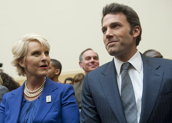 Pictures of Ben Affleck Joining Cindy McCain to Testify on Behalf of ...