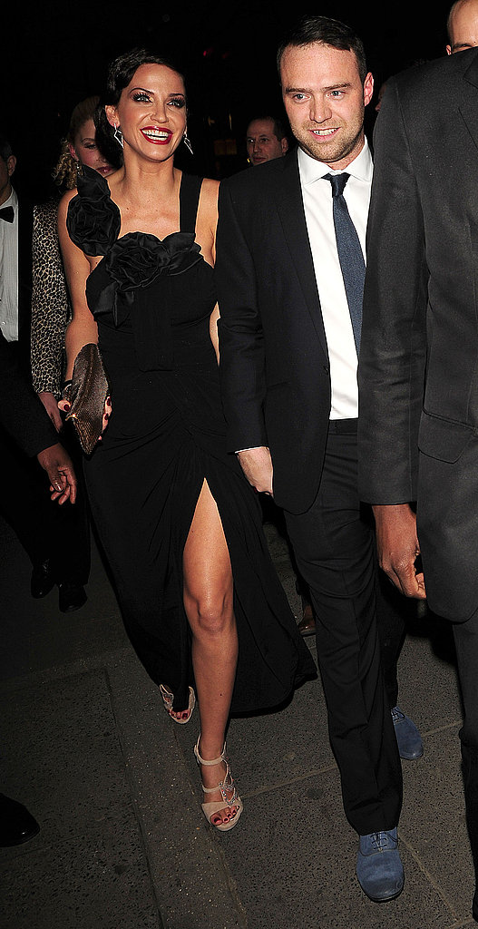 Pictures of Sarah Harding and Tom Crane's Engagement Party