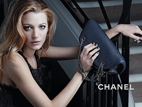 See the Full Set of Blake Lively's Chanel Mademoiselle Handbag Campaign