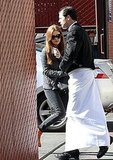 Box Office Winner Isla Fisher Flashes Her Cash Following Lunch