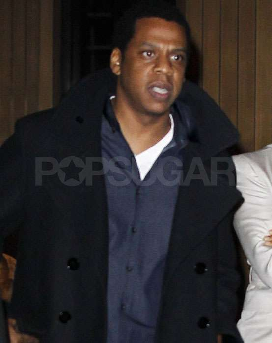 Jay-Z Has a Night Out in a New York State of Mind