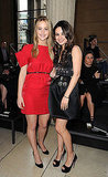 Jennifer Lawrence and Mila Kunis at Miu Miu.