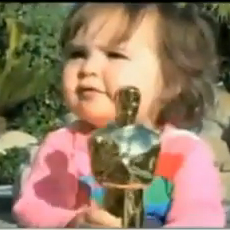 Oscar Winner's Daughter Damages Trophy