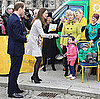 Photos of Prince William and Kate Middleton in Northern Ireland and Video of Them Flipping Pancakes