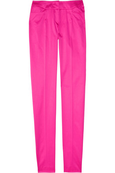 A definite investment piece, but it'll surely turn heads all year long. Jil Sander Slim Leg Pants, ($595)
