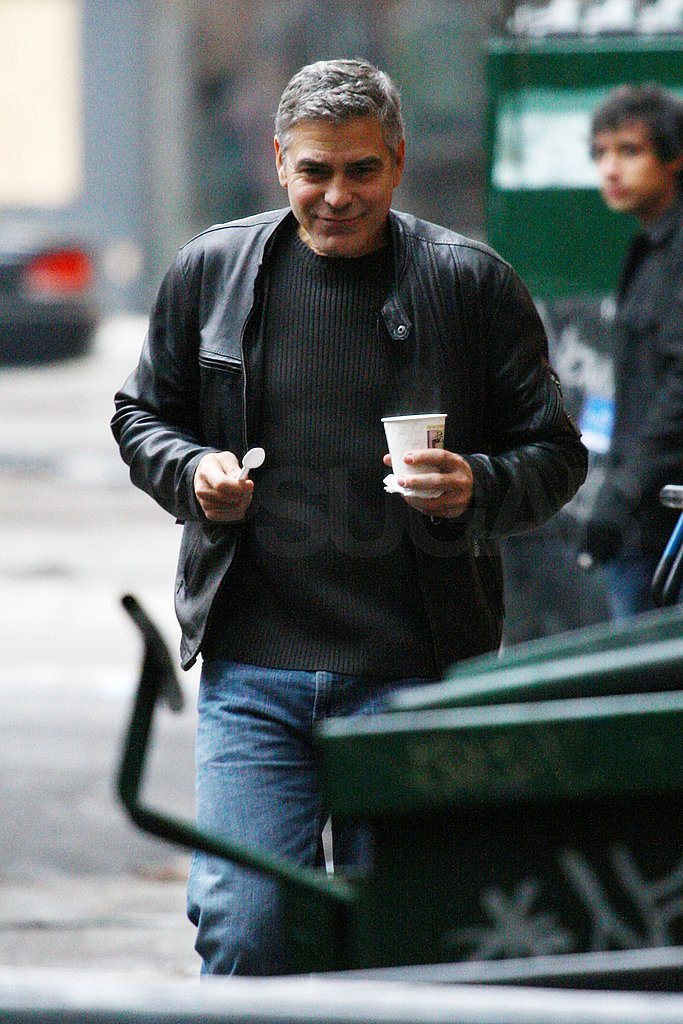 George Clooney Fuels Up For His Stint in the Director's Chair
