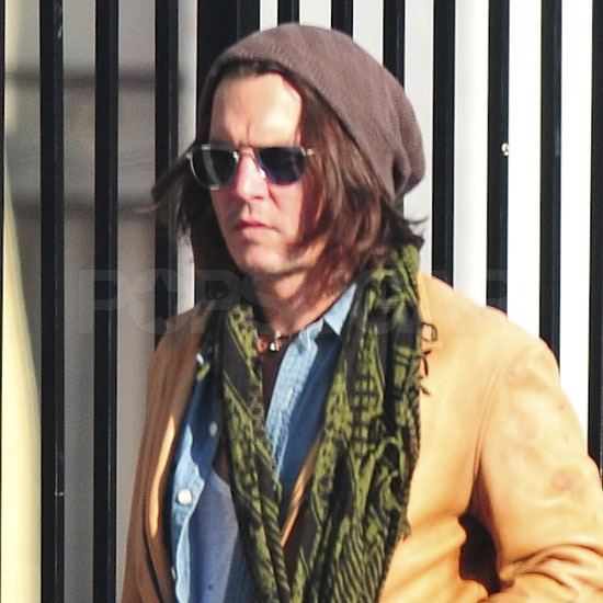 Johnny Depp Takes a Solo LA Stroll While Vanessa Paradis Handles the School Run