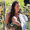 Pictures of Alanis Morissette and Mario Treadaway With Their Baby in LA