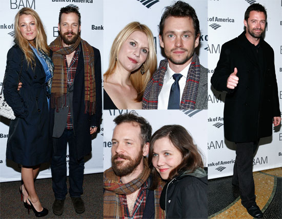 Pictures of Blake Lively, Peter Sarsgaard, Maggie Gyllenhaal, and Hugh Jackman at the Brooklyn Academy of Music's 2011 Gala 2011-03-11 07:04:50