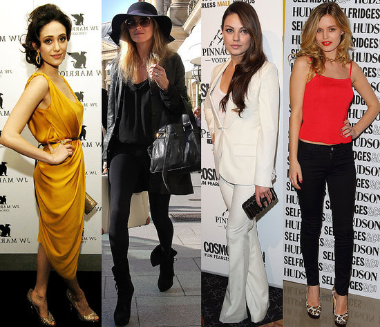 Fab's Top 10 Celebrity Looks of the Week — Kate, Natalia, Mila, and More!