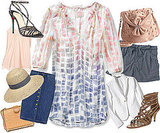 One Spring Piece Styled Seven Different Ways