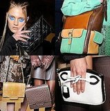 And then we swooned over the amazing bags . . .