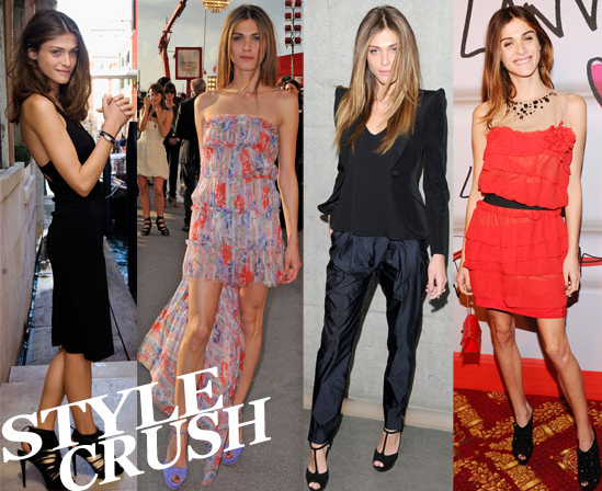 Meet Elisa Sednaoui, style icon in the making.