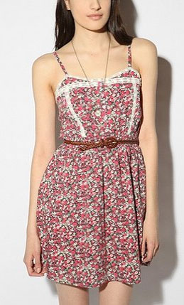 A sweet floral print we'd play against our army jackets on weekends. Lucca Couture Embellished Sundress ($59)