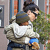 Pictures of Sandra Bullock in NYC With Louis Bullock