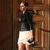 Pictures of Emma Watson Shooting Lancome Commercial in Paris