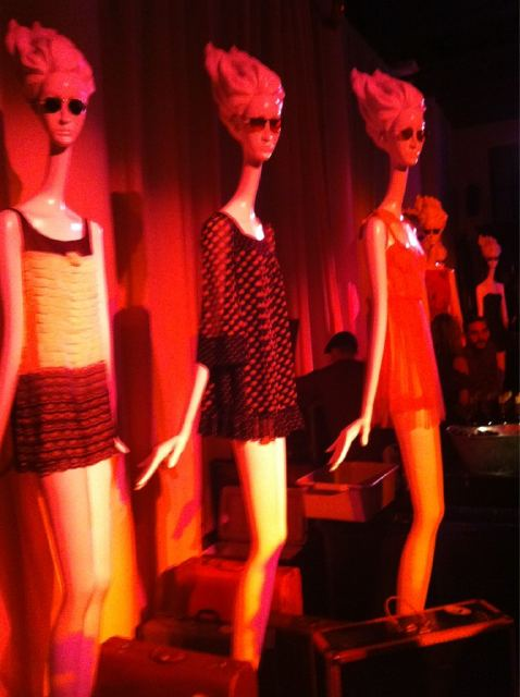 Nina Garcia gave an inside look at Target's Go! International dress collection party.