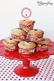 For this recipe, you bake the pies in cupcake tins and then tie on bows for the finishing touch!  Source