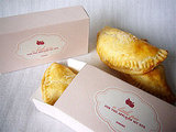 Follow this easy recipe for hand pies, and box them up with the free printable box template. Source