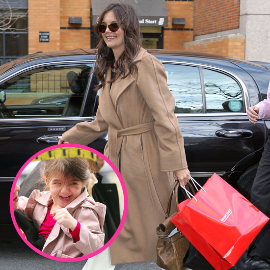 Katie and Suri Divide and Conquer the City in Style