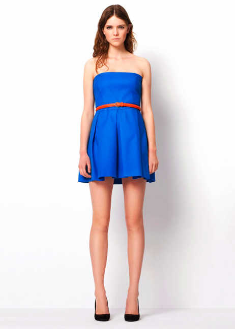 Pleated Dress ($60) Belt ($40) Basic Court Shoe ($50)