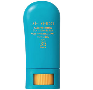 Water-Resistant Sunscreen and Foundation in a Stick