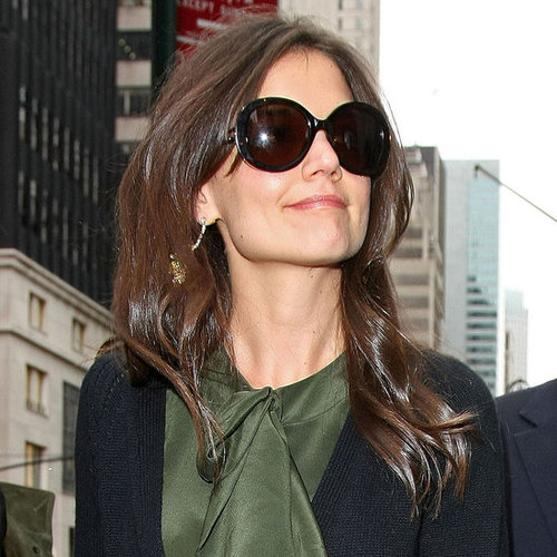 Pictures of Katie Holmes Out With Her Stylist Jeanne Yang in NYC