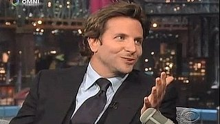 Video: Bradley Cooper on The Late Show With David Letterman