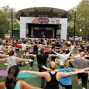 Self Magazine Workout in the Park Event Details