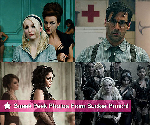 New Sucker Punch Pictures Featuring Jon Hamm, Vanessa Hudgens, Carla Gugino and Emily Browning