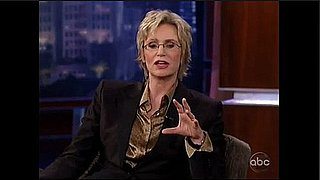 Jane Lynch Talks About Her Favorite Glee Guest Stars on Jimmy Kimmel