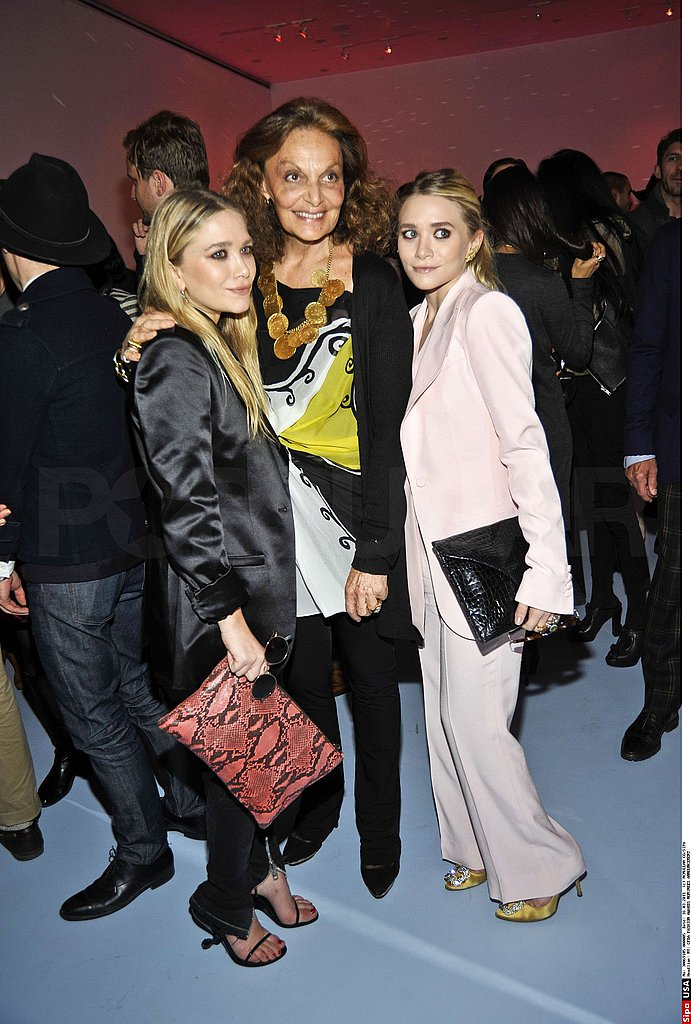 Mary-Kate and Ashley Olsen Celebrate Their CFDA Nomination