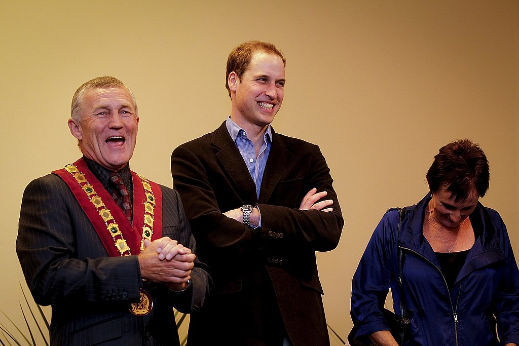 Prince William Tours New Zealand as Kate Handles Her Last-Minute Wedding Prep