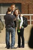 Ryan Gosling Thrills His Lady Fans on Set in Detroit