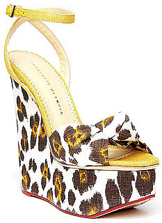 The Covet List: Crazy For Charlotte Olympia's Sexy Leopard Wedges