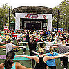 Self Magazine's Workout in the Park in NY and SF