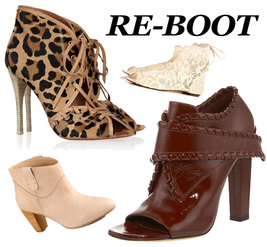 Shoe obsessed? Check out these slick booties for Spring!