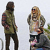 Pictures of Pregnant Kate Hudson With Ex Husband Chris Robinson at Ryder's Little League Game