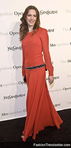 Yves Saint Laurent Style at the Metropolitan Opera's Gala Premiere of Rossini's Le Comte Ory