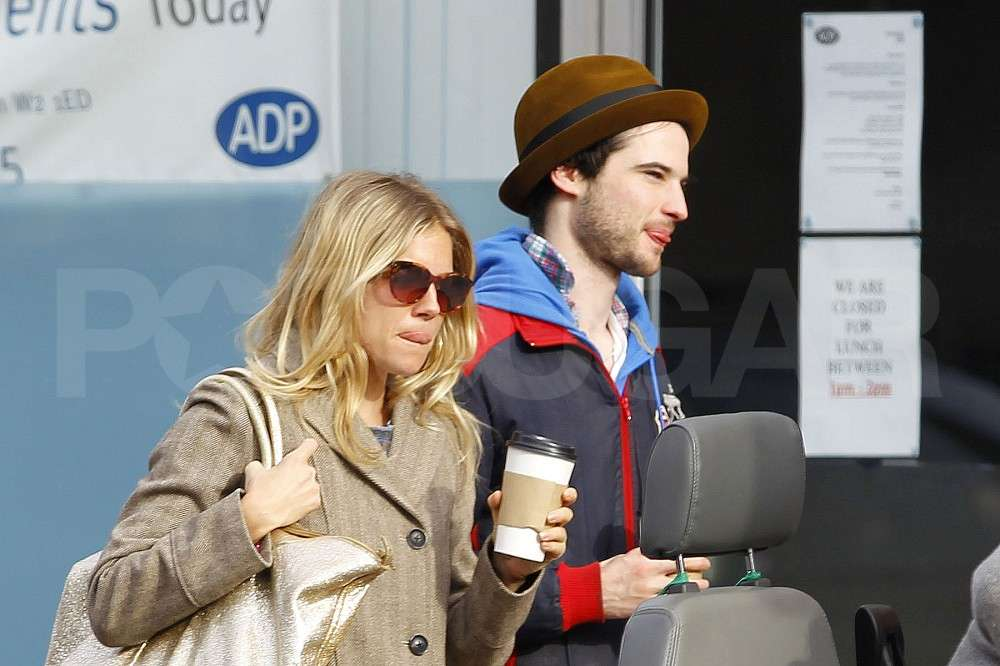 Sienna Miller and Tom Sturridge Step Out For a Coffee Date