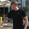 Pictures of Alexander Skarsgard Working Out at Equinox in LA