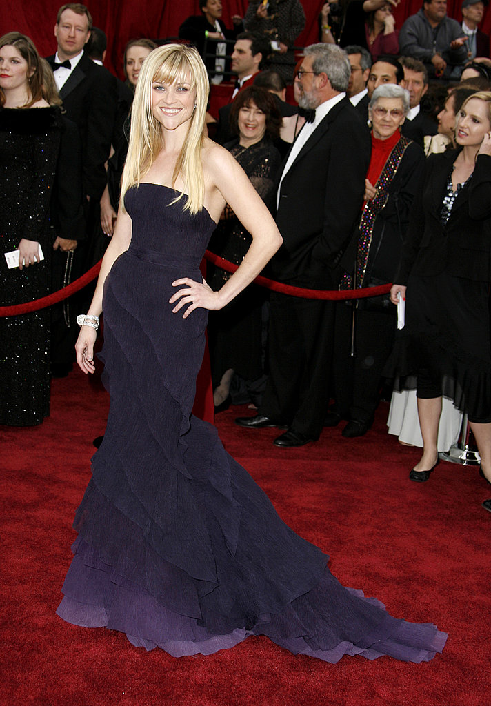 Reese Witherspoon in Olivier Theyskens For Nina Ricci at 2007 Oscars