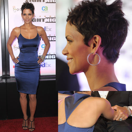 Halle Berry's Dazzling Dress — and Figure — From All Angles